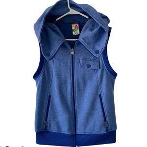 Burton Dry Ride Blue Hooded Vest